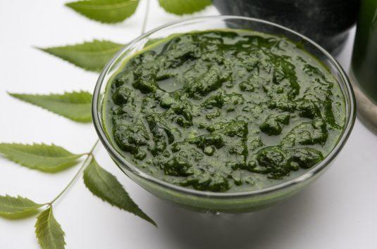 Macerado oleoso de folhas de neem